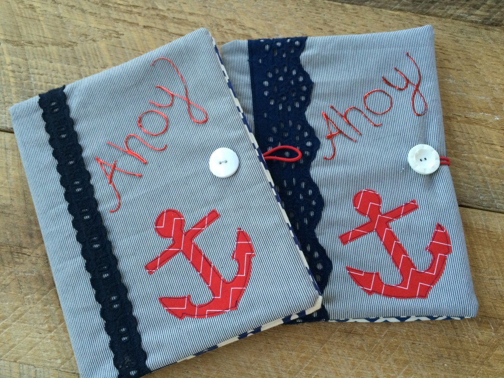 nautical composition book applique 11