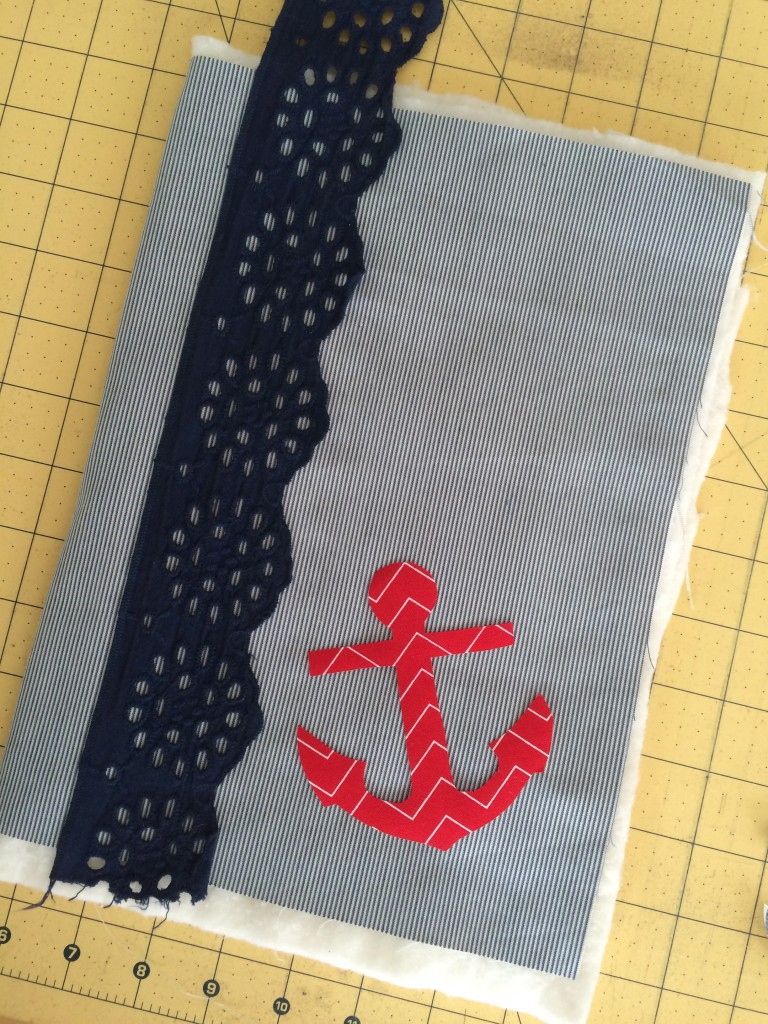 nautical composition book applique 3