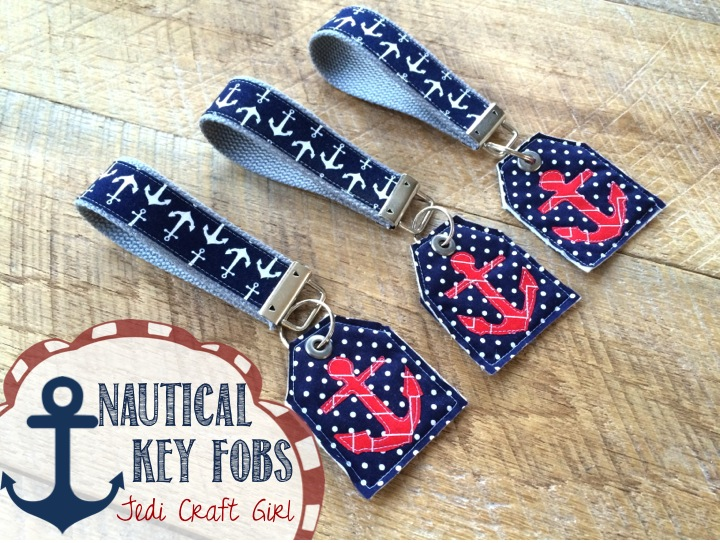 nautical key fobs