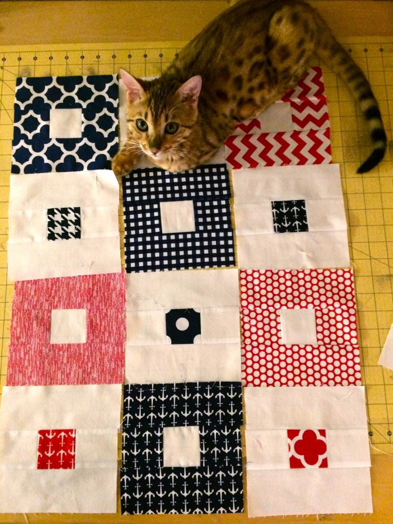 nautical mini quilt 3