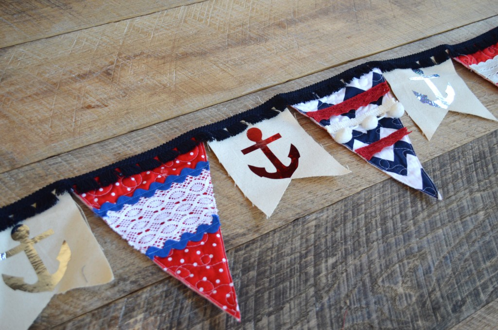riley blake nautical banner deco foils 10