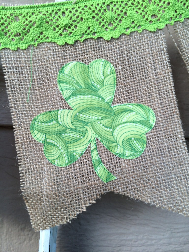 shamrock banner st. patricks day 14