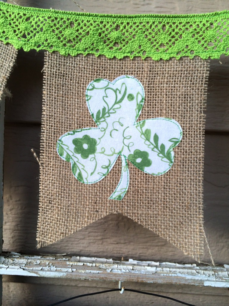 shamrock banner st. patricks day 15