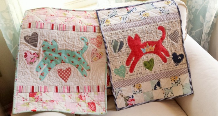 Mini Kitty Quilt Pattern Now Available!