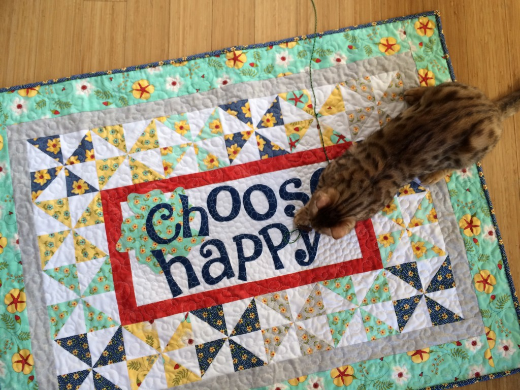 choose happy quilt 25