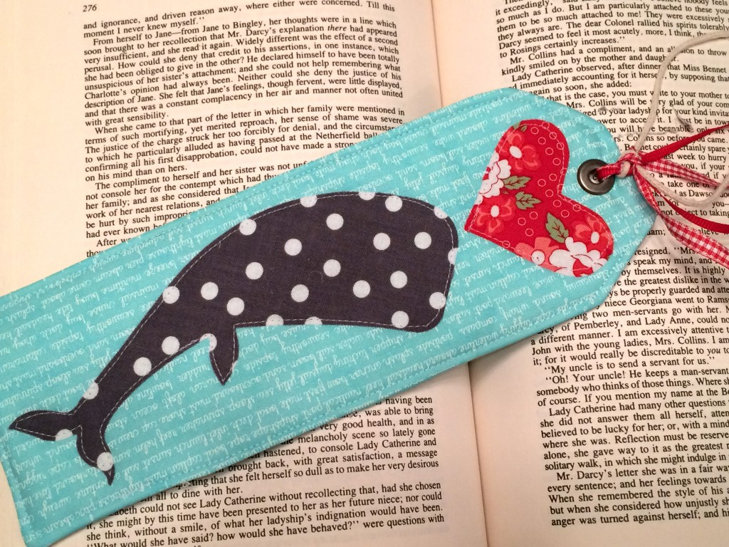 sizzix whale bookmark 9