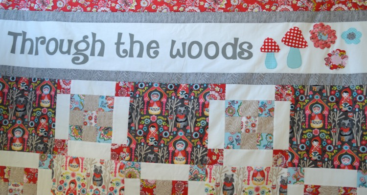 Through the Woods to Grandma's House {Quilt Pattern}