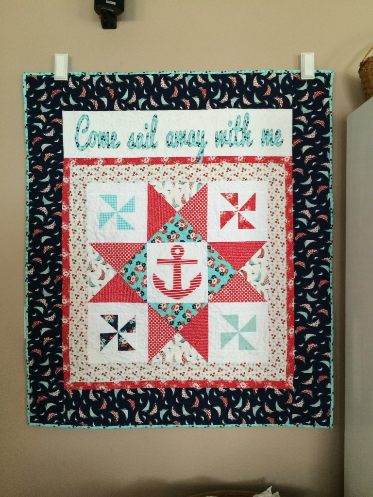 daysail moda nautical quilt