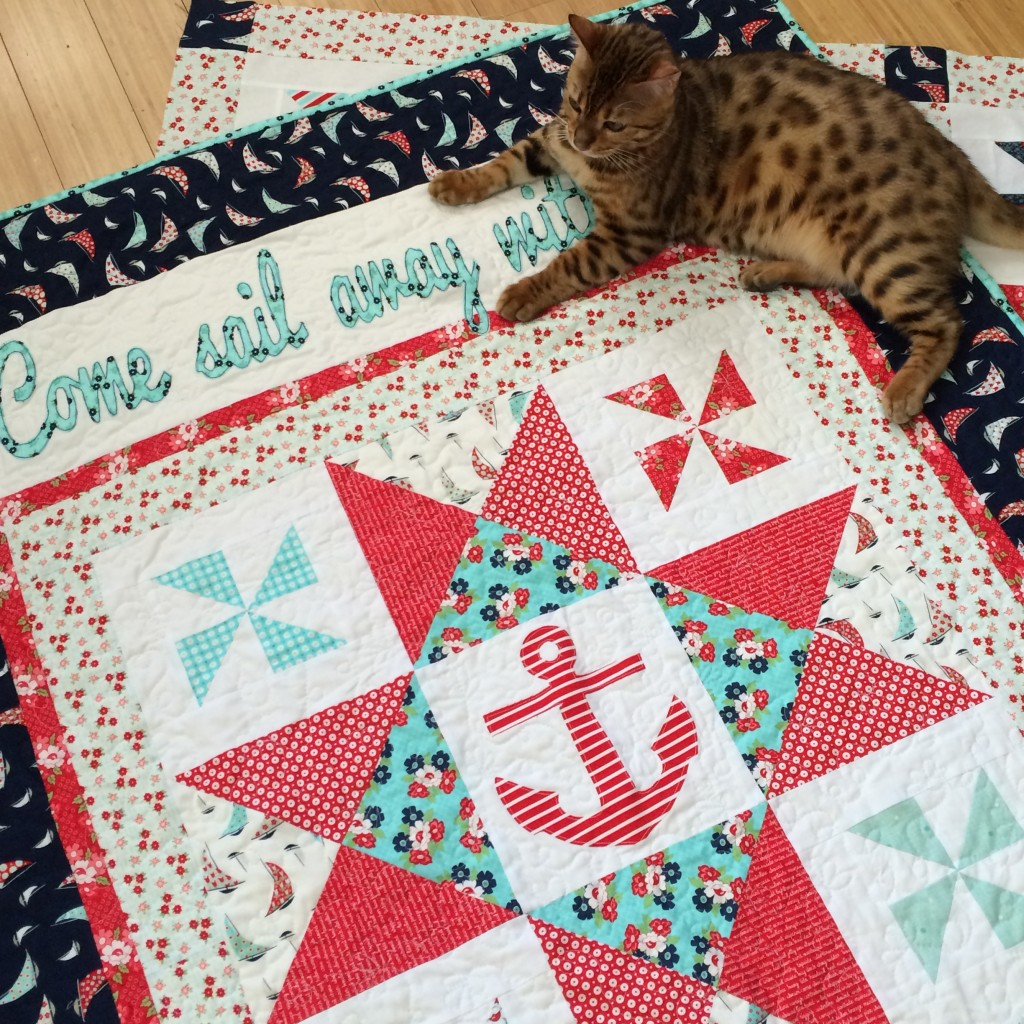 Day Sail Moda Quilt Nautical