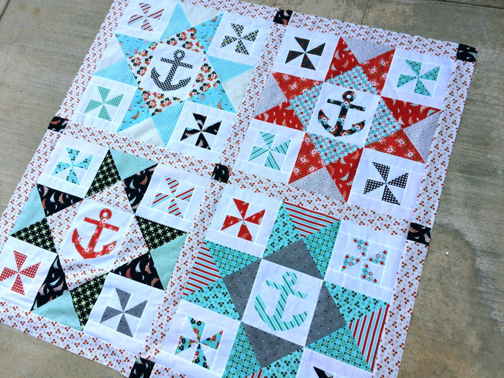 Day Sail Nautical Quilt patern