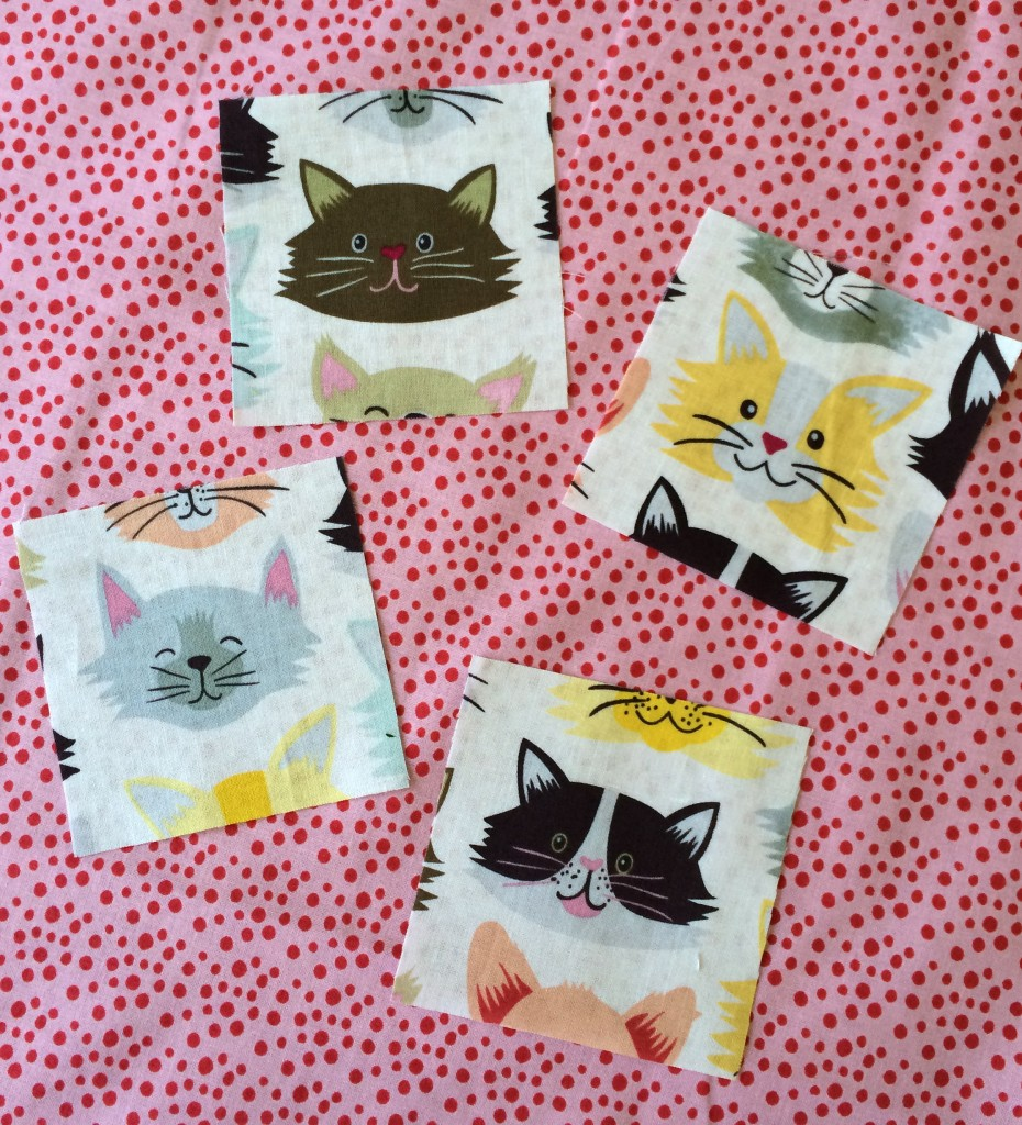 kitty quilter mini quilt 2