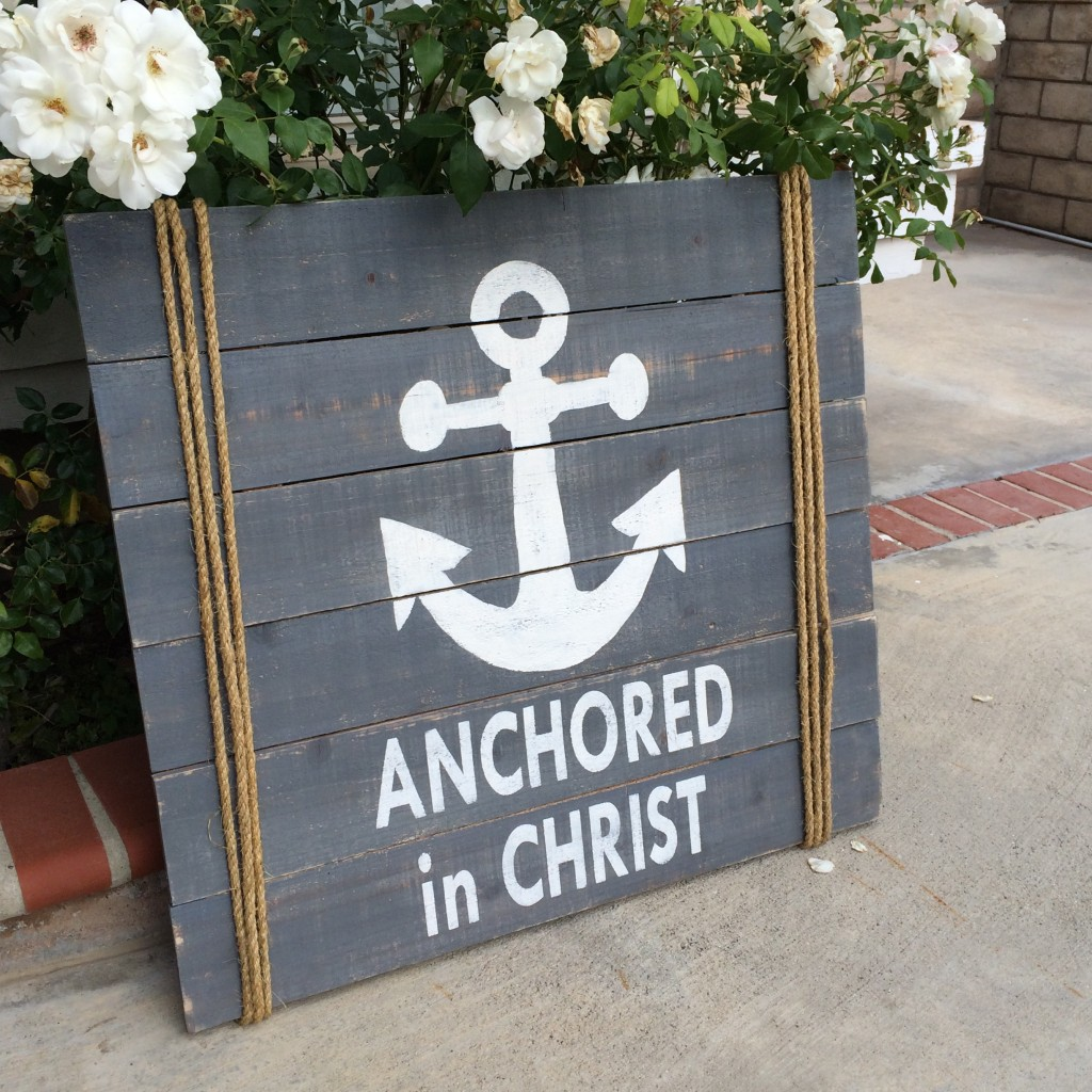 wood anchor sign 9