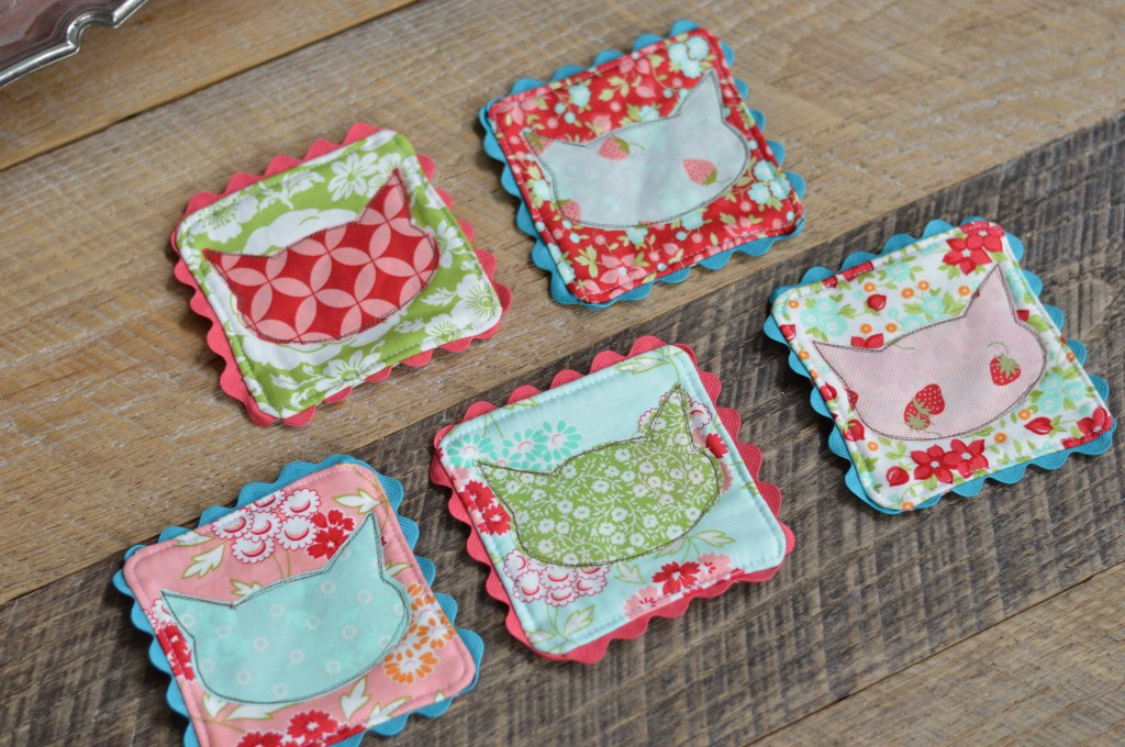 cat coasters sizzix. 3