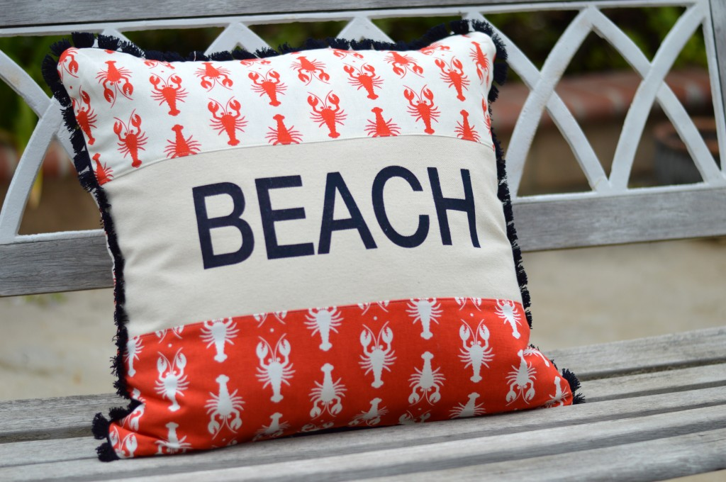 lobster pillow riley blake 9