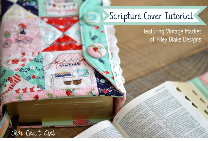 scripture cover tutorial