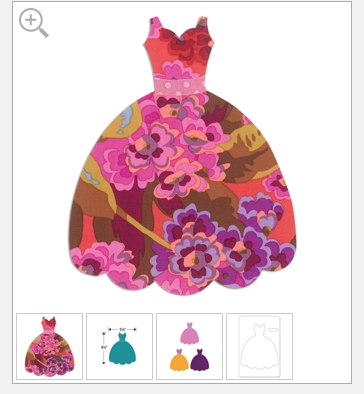 sizzix dress 3