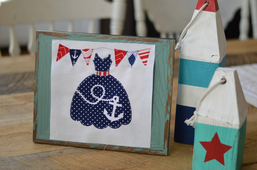 sizzix dress nautical anchor