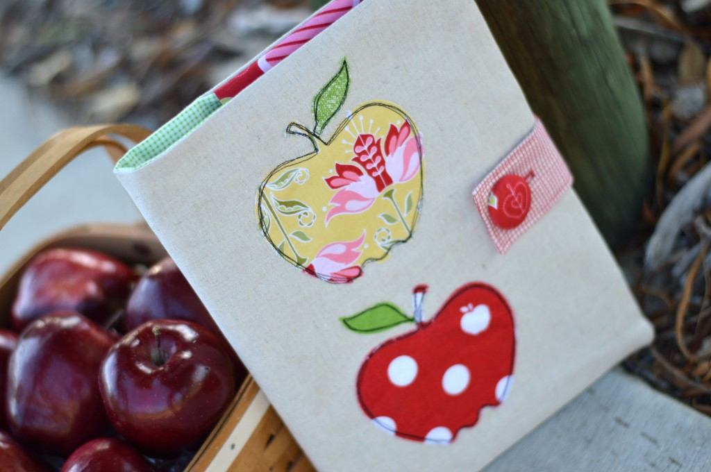 apple applique composition book 7