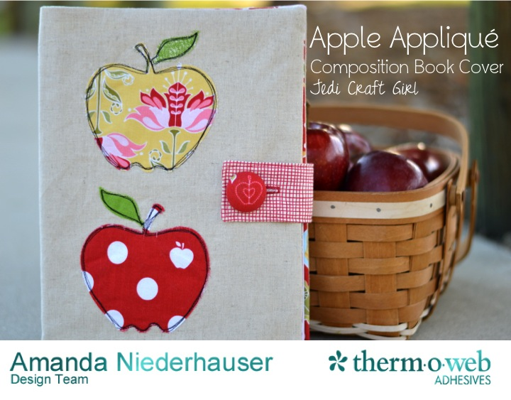 apple applique cover