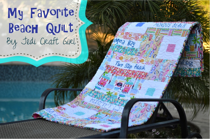 my favorite beach quilt