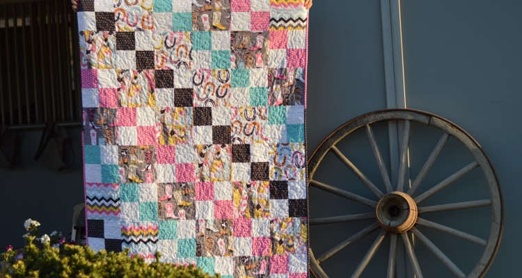 Blend Fabrics Luckie Girl Quilt Pattern {free}