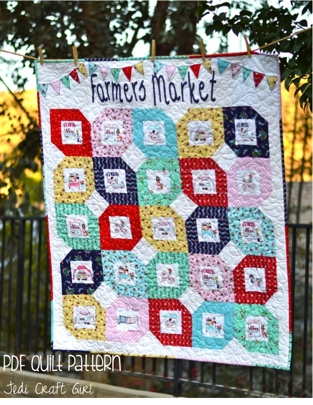 farmers market quilt cover