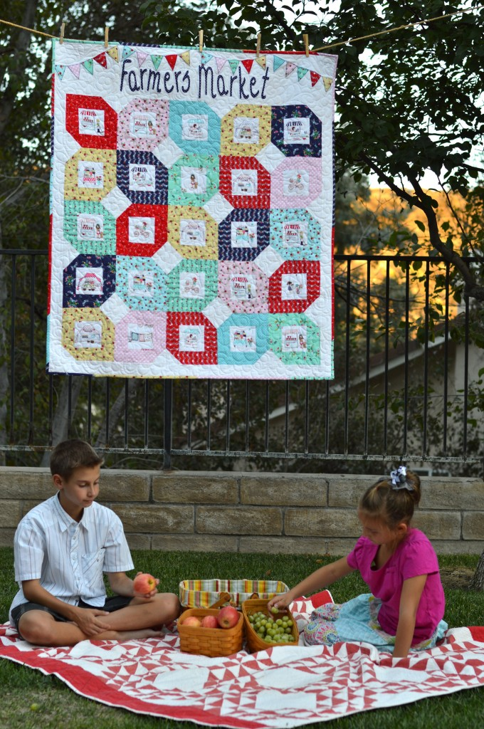 Farmers Market Quilt Pattern Featuring Riley Blake Designs
