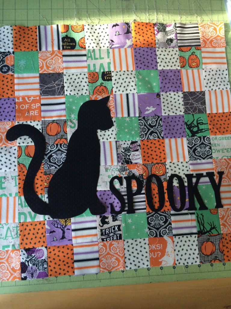 spooky mini quilt 3