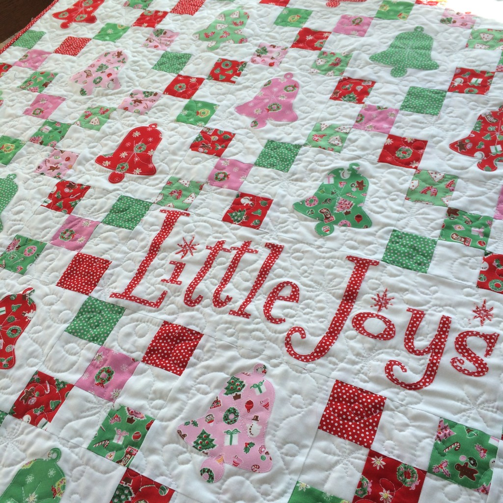 little joys quilt pattern christmas 10