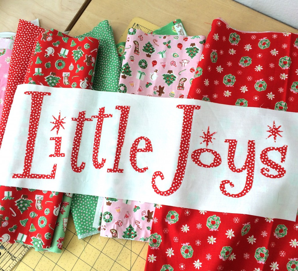 little joys quilt pattern christmas 12