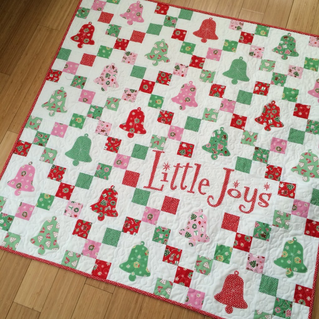 little joys quilt pattern christmas 14
