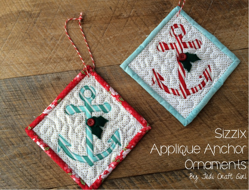 sizzix anchor ornaments