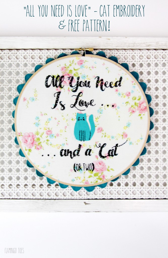 All-You-Need-is-Love-Cat-Embroidery-and-Free-Pattern