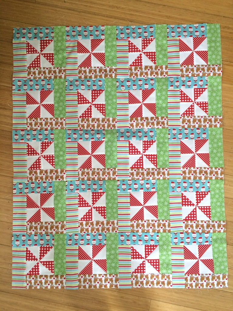 christmas elf quilt 25