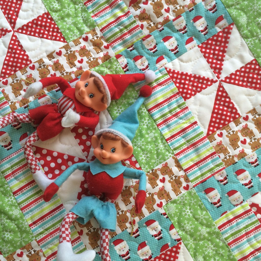 christmas elf quilt 26