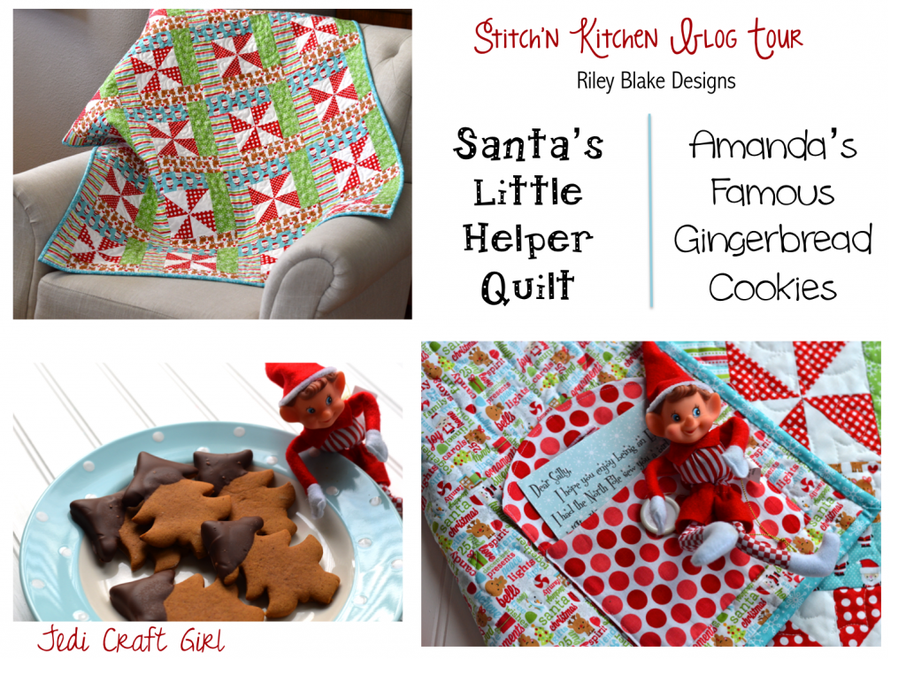 santa's little helper quilt pattern