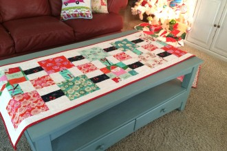 Tinsel Table Top Quilt