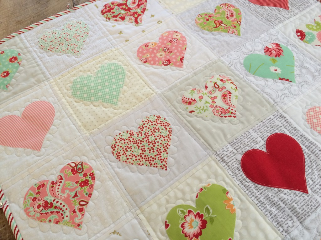 Diy heart quilt a cozy and sweet make for valentine s day