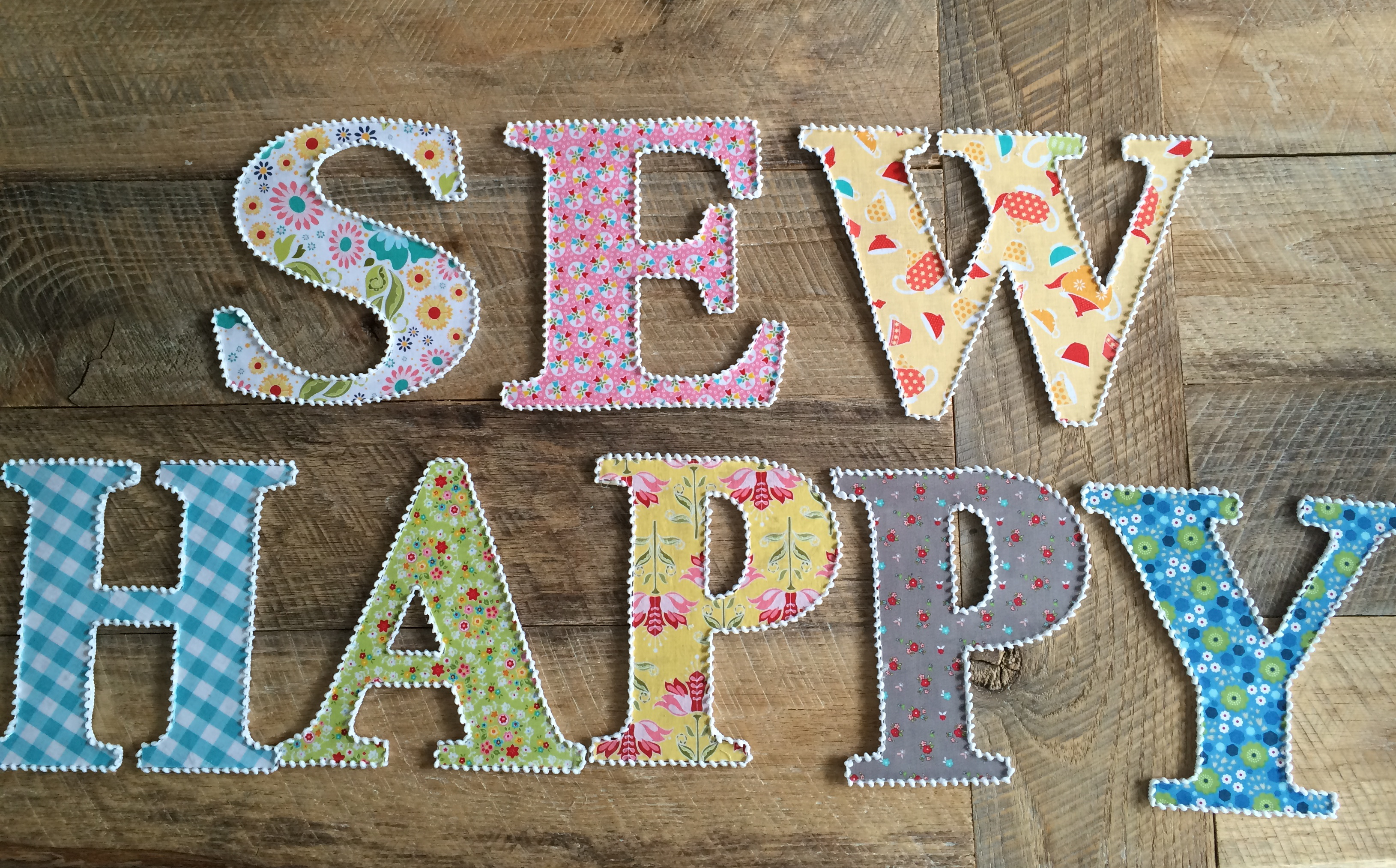 letters covered in fabric Learn how to make this adorable home accent using strips of fabric and mod podge subscribe to our channel for more easy diy projects like this one seventh .