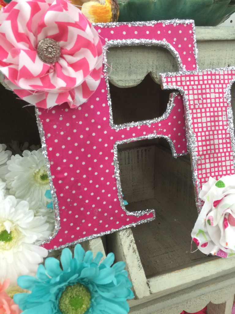 fabric letters 2