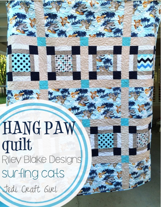 hang paw quilt