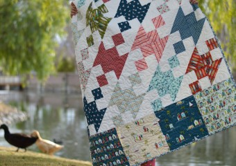 Surf Report Quilt Featuring Off Shore by Riley Blake Designs