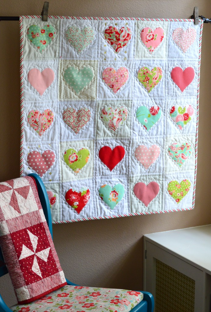DIY Heart Quilt: A Cozy and Sweet Make for Valentine's Day