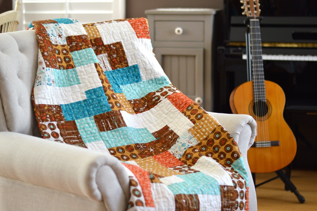 mid century mix up quilt 2