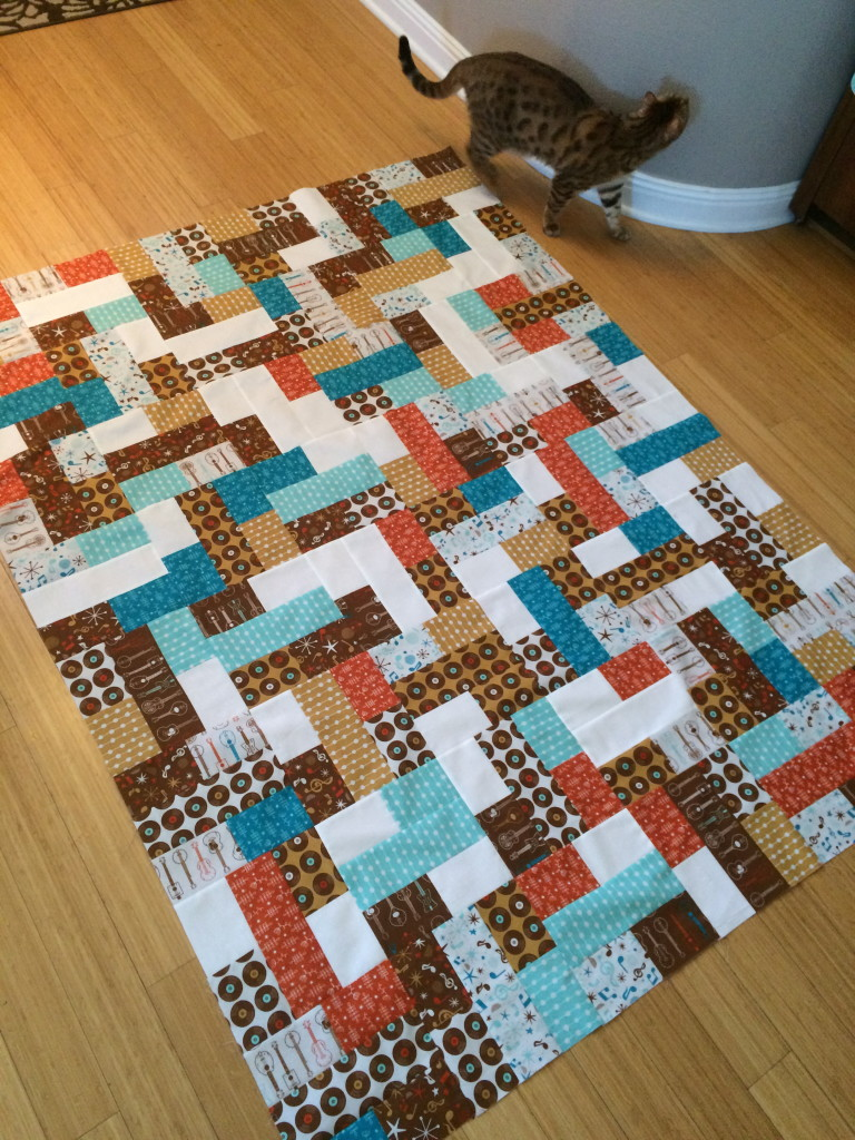mid century mix up quilt 25