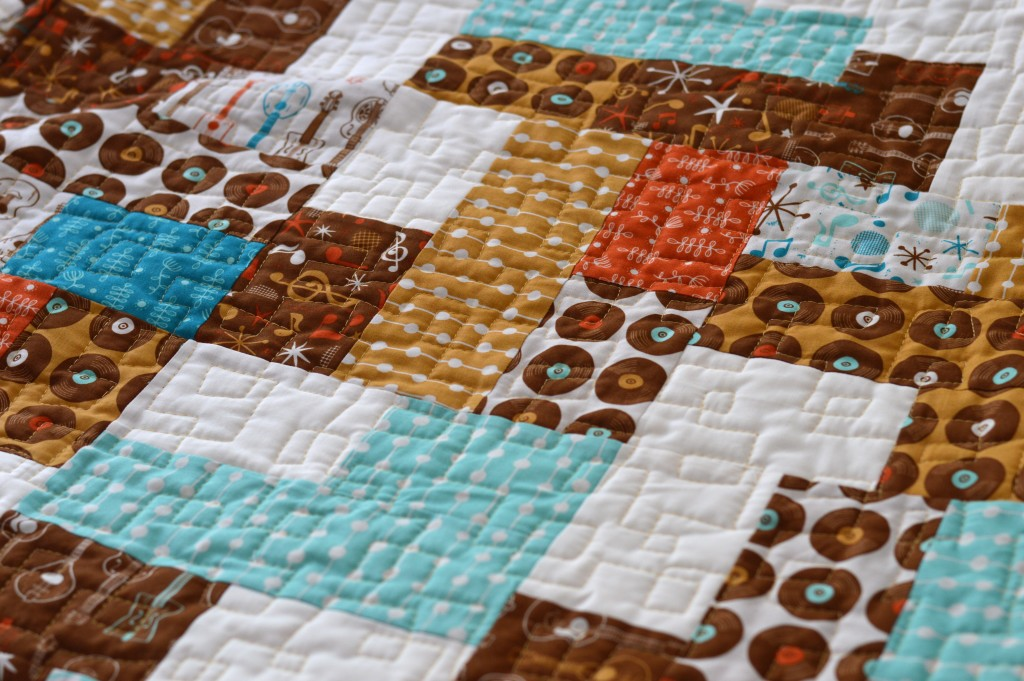 mid century mix up quilt 3