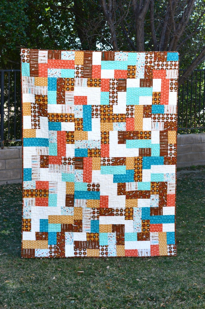 mid century mix up quilt 4