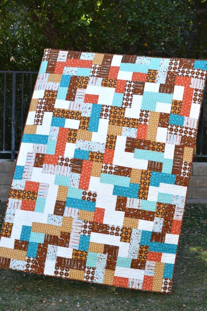 mid century mix up quilt 5