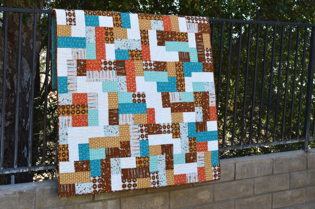mid century mix up quilt 6