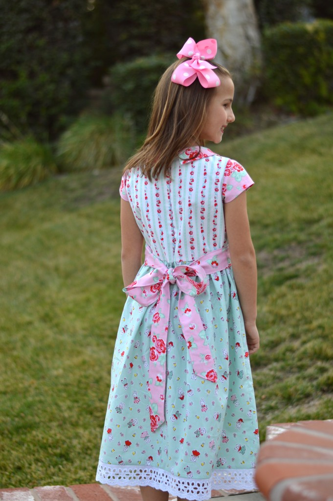 milk sugar flower dress 4